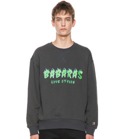 Charcoal Flame Sweatshirt