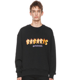 Black Flame Sweatshirt
