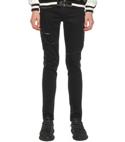 Calik Black Washed Jeans